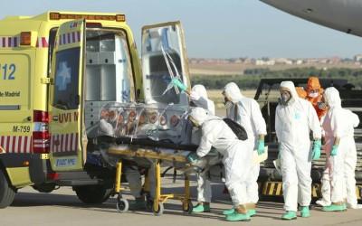 La camilla PC-650 usada en el traslado del paciente contagiado con Ebola