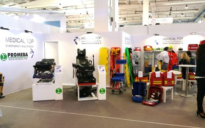 Success at R.E.A.S. (Emergency Exhibition ) in Montichiari , Italy