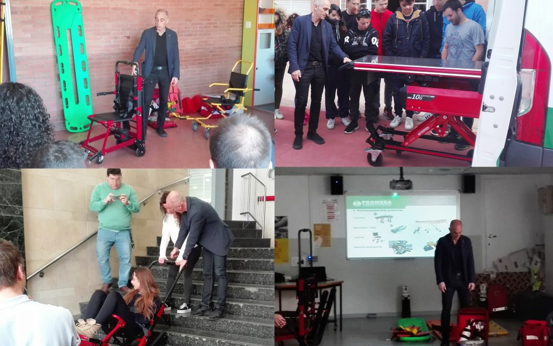 Promeba collaborates in the training of Emergency Technicians
