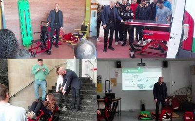Colaboramos en la formación de técnicos de emergencias