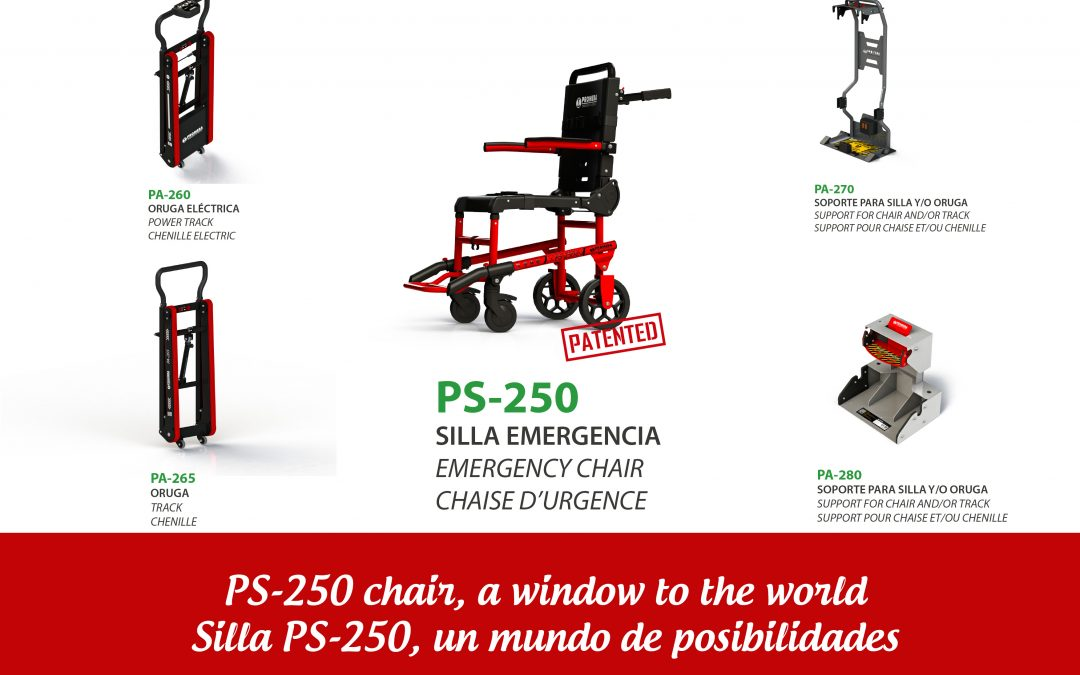 PS-250 is the most versatile Promeba emergency chair