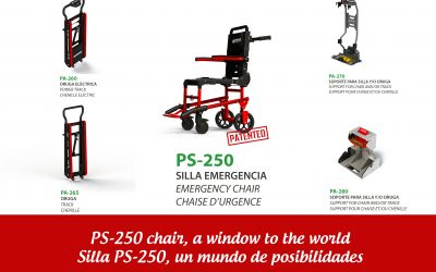 The chair for emergencies more versatile by Promeba, knows the chair PS-250
